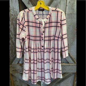 Reborn pleated shirt dress